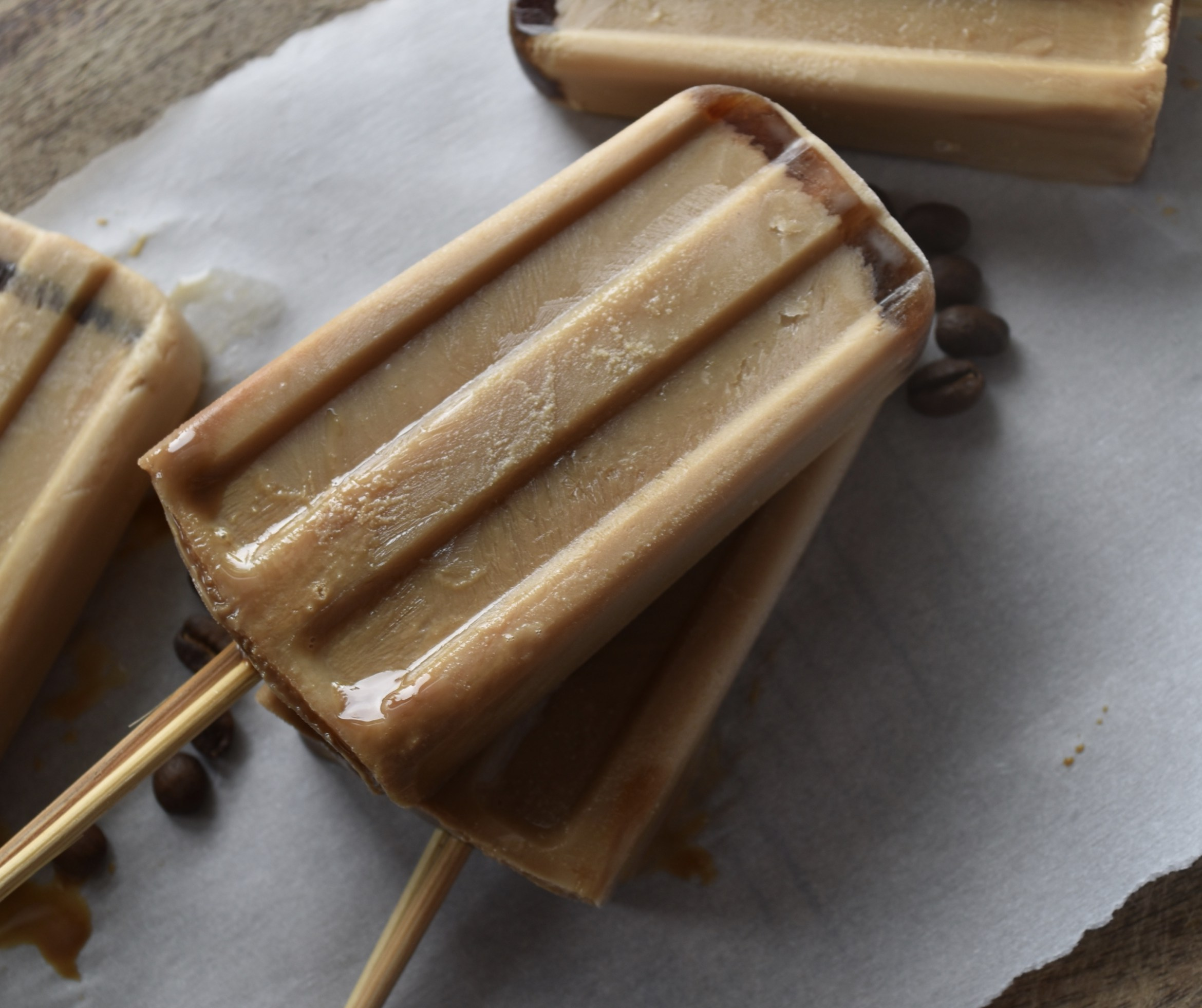 Iced Coffee Popsicle | A sweet summer treat for your next coffee break.