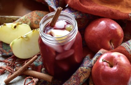 fall cocktails autumn apple sangria