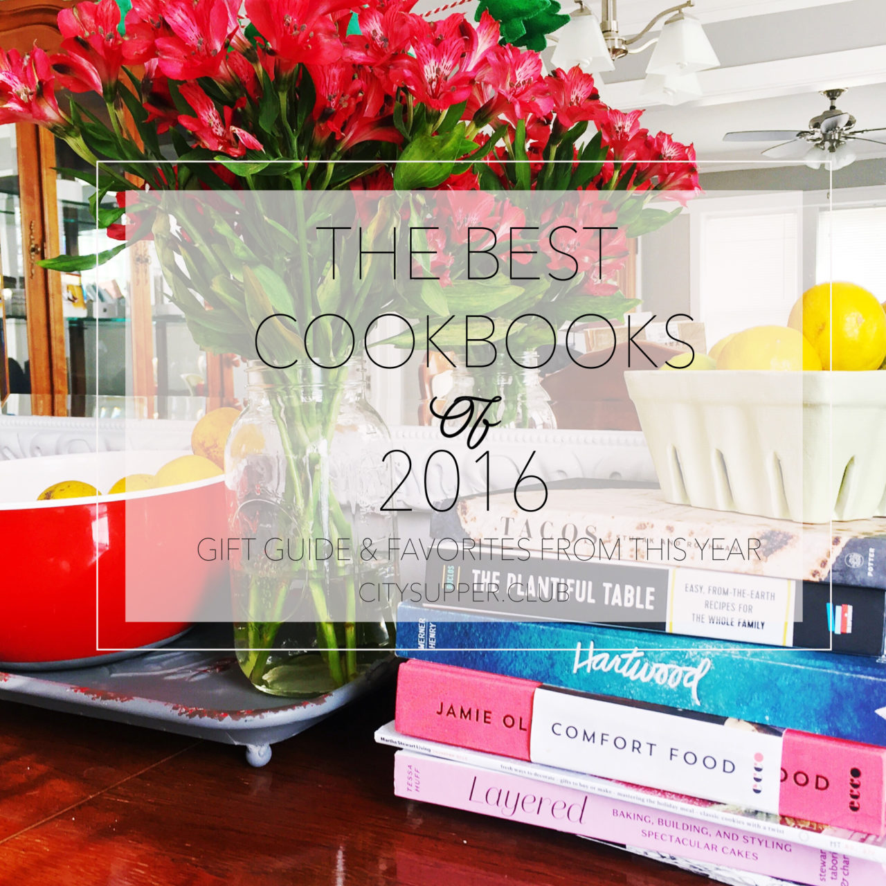 My Favorite Cookbooks this Year (2016)