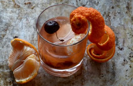 Sweet Clementine Bourbon Old Fashioned