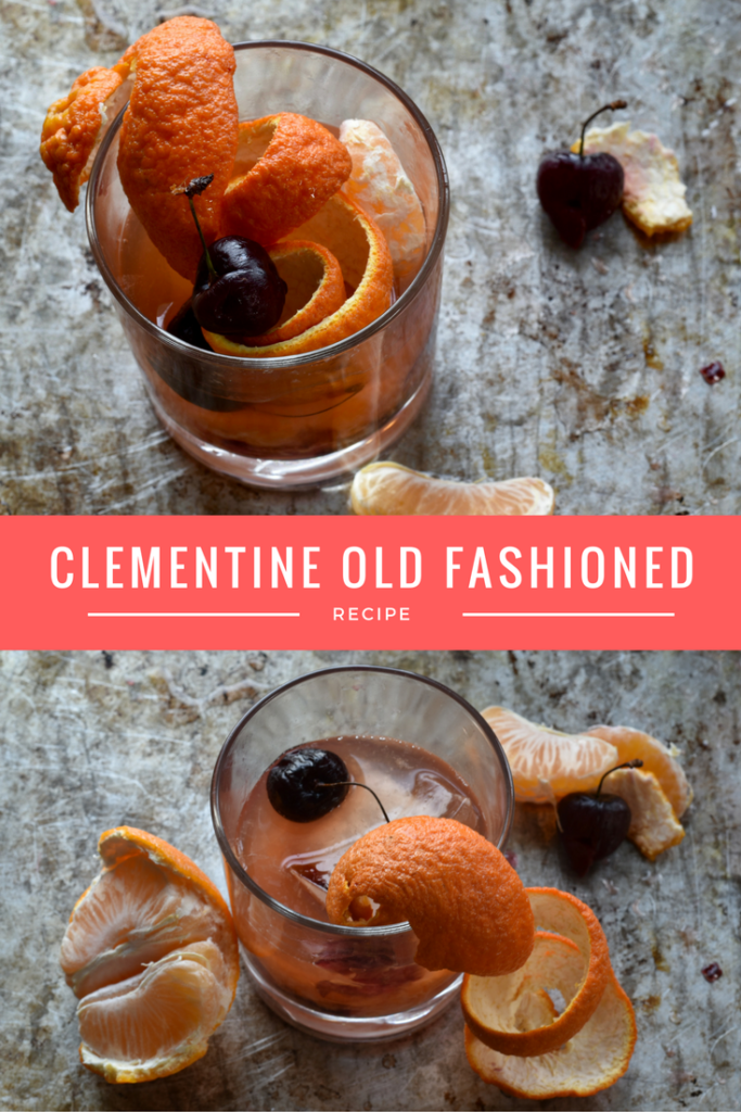 Clementine Old Fashioned Cocktail Recipe
