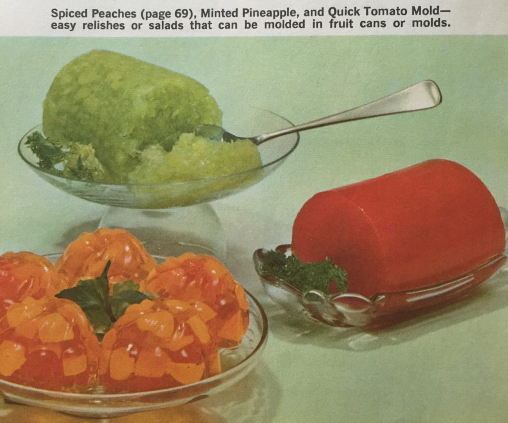 Joys of Jello vintage recipes