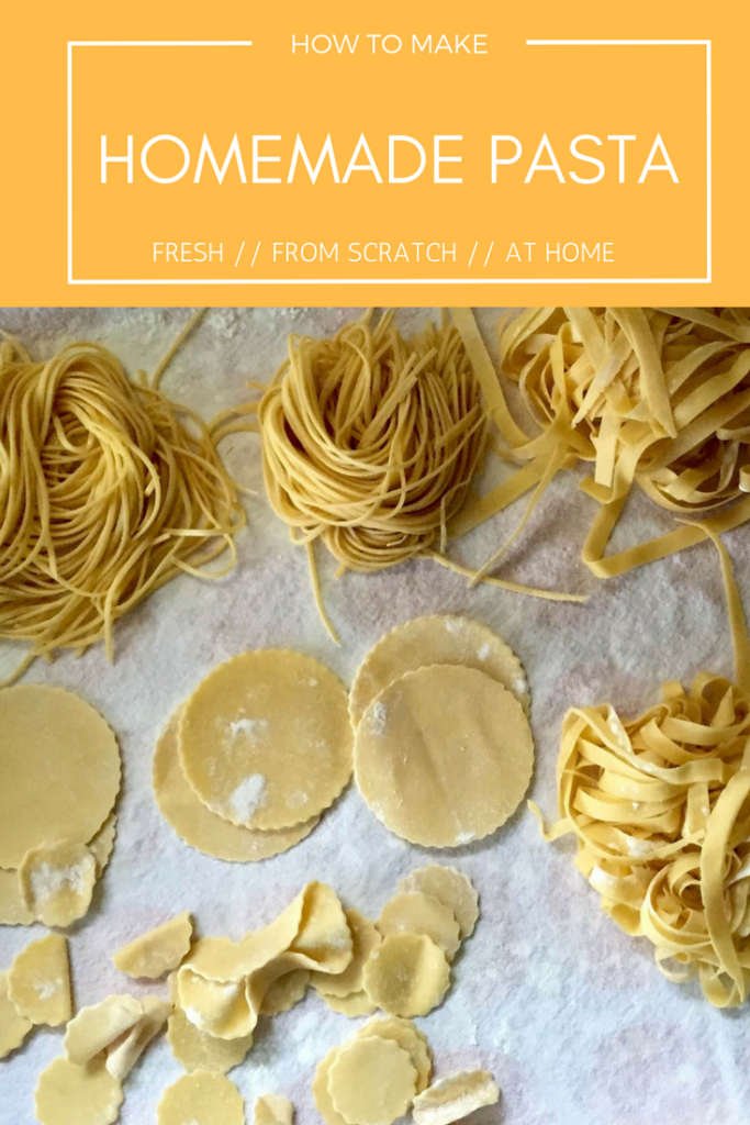 How to make fresh pasta at home // City Supper Club