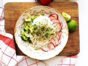 Savory Yogurt Breakfast Bowl