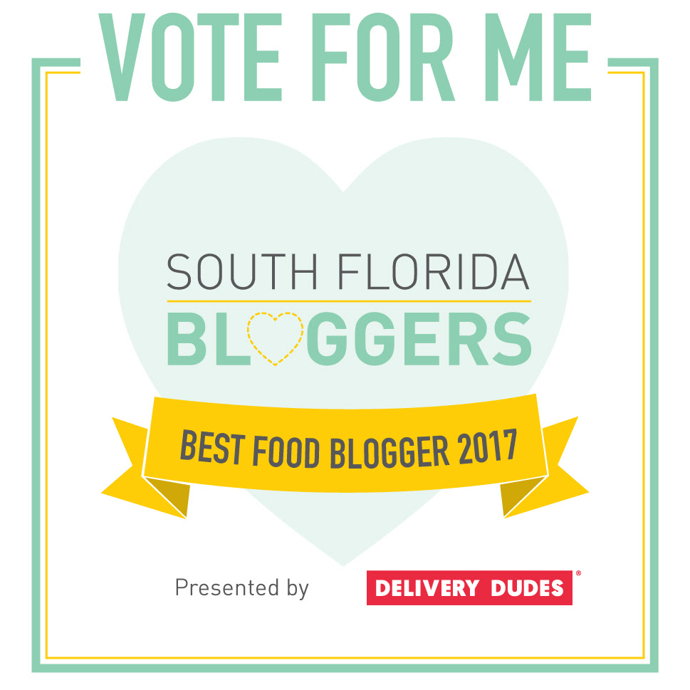 Vote for (me!) Best Food Blogger 2017!