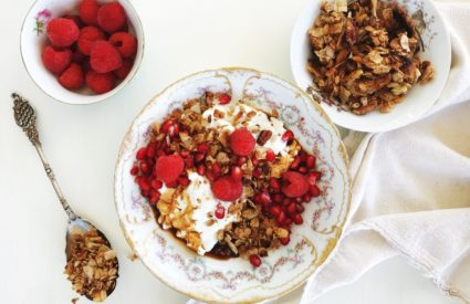 Salted Coconut Granola