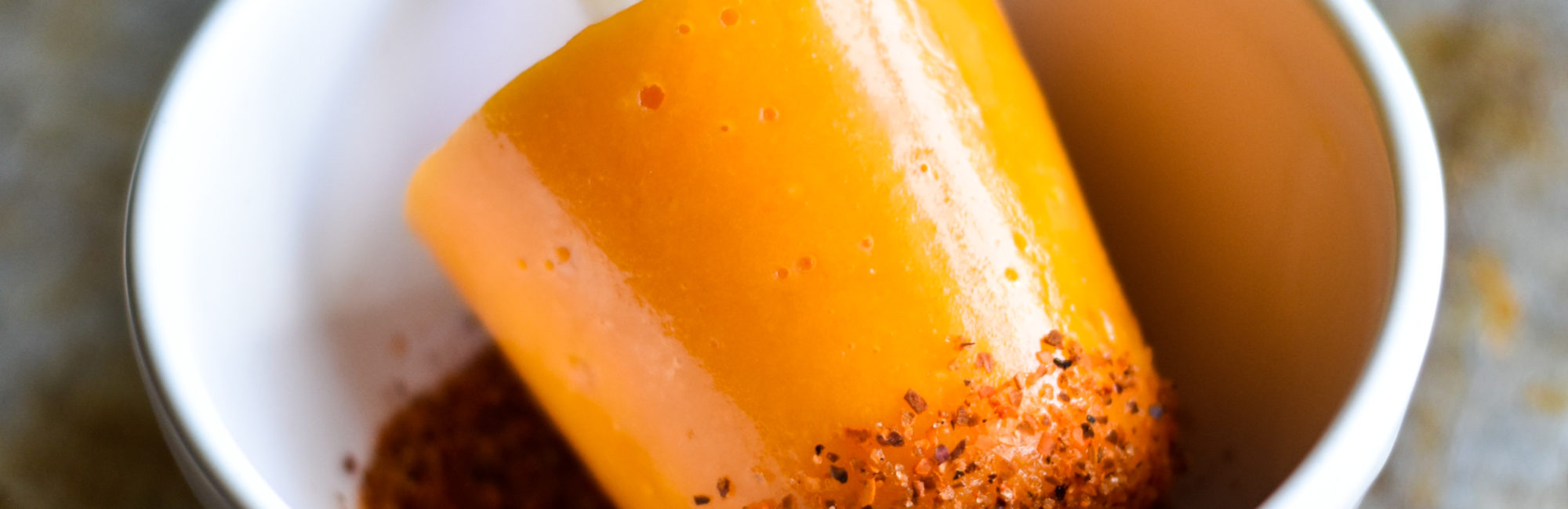 Sour and Spicy Mango Chili Paletas (Popsicles)